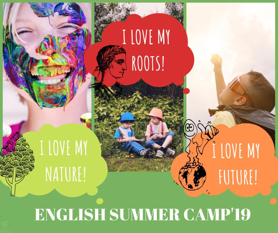 """ANGLŲ KALBOS DIENOS STOVYKLA """"ENGLISH SUMMER CAMP'19"""" – DAR DAUGIAU NUOTYKIŲ, DAR DAUGIAU ŽINIŲ TEMINĖSE PAMAINOSE!"""