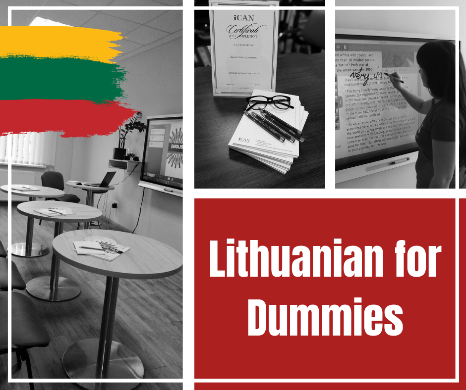 Lithuanian for Dummies!